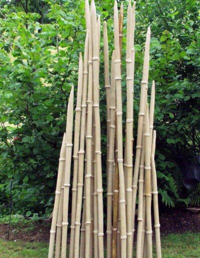 Keramischer Bambus -frostfest-