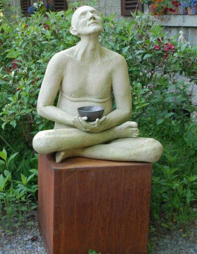 Teetrinker, frostfestes Gartenobjekt