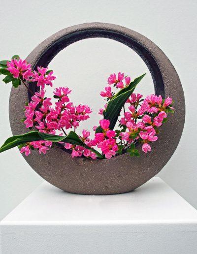 Ikebana-Mond (Arrangement: Antje Klatt)