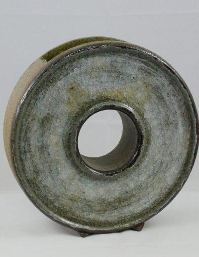 Ikebana-Rad mit eingeschmolzenem Glasnens